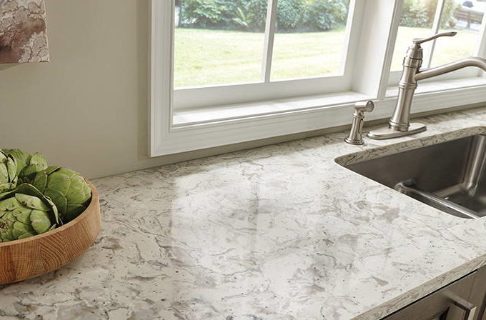 For All the Strength and also Rich Tapestry of White Quartz Countertops