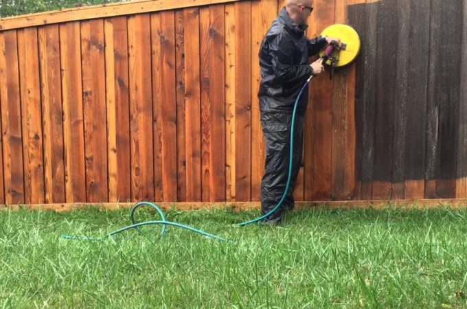 Wood Fence Cleaning Tips When Using A Pressure Washer