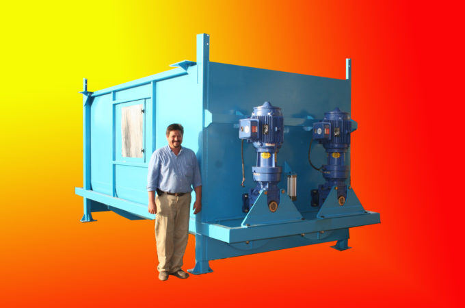 Industrial Blenders and Fluidizers
