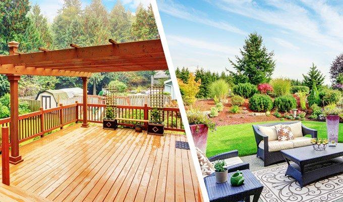Deck vs. Patio: Explanation by Charlotte Deck Builders